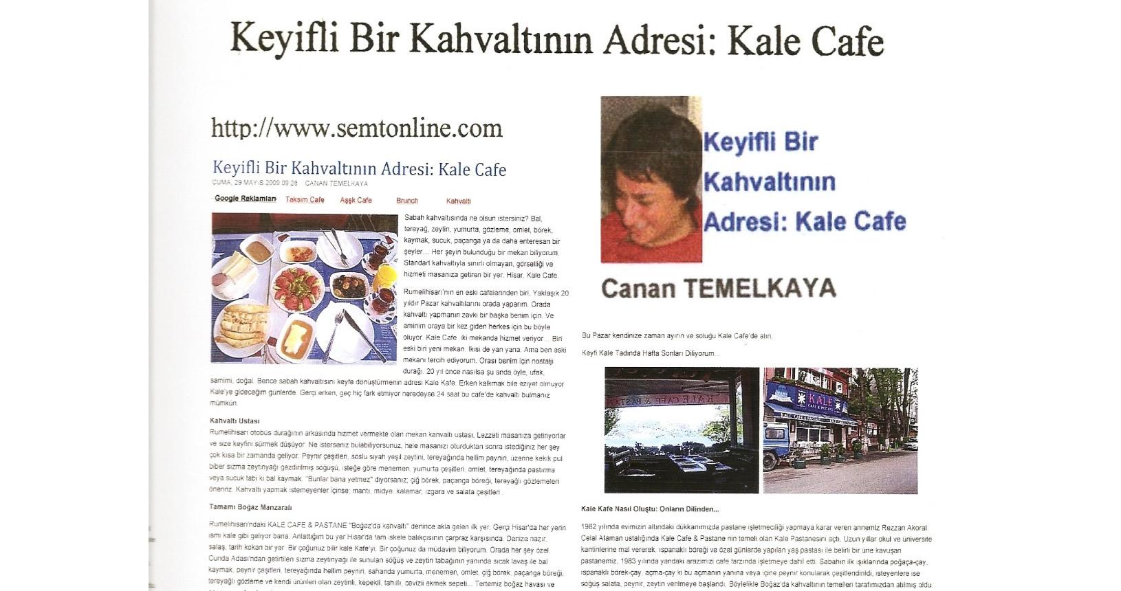 Kale Cafe Semt Online