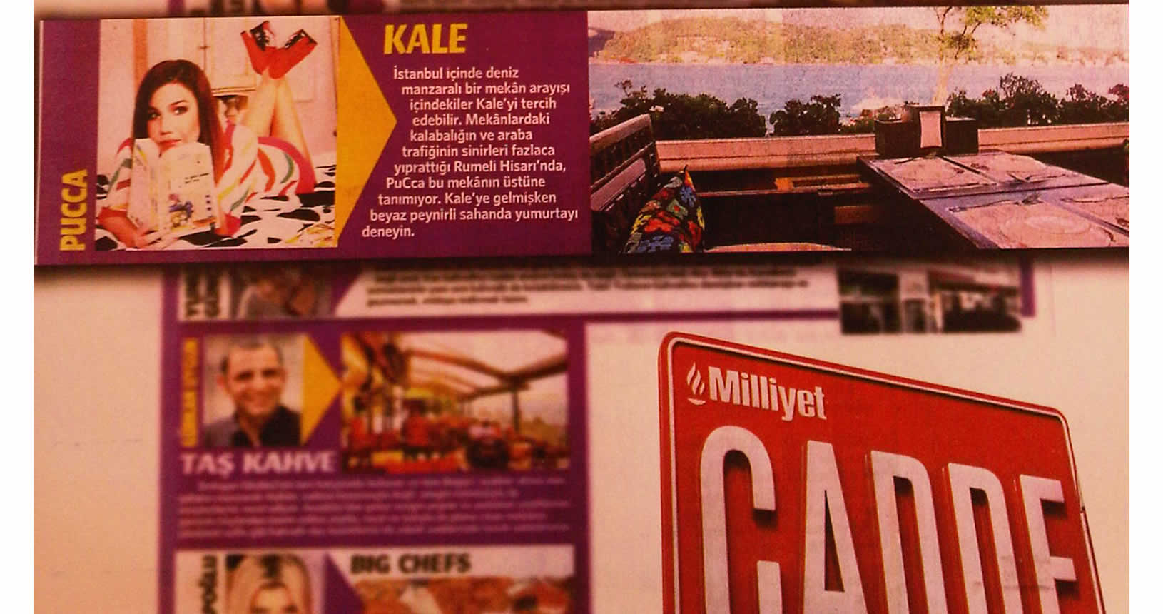 Kale Cafe Milliyet Cadde